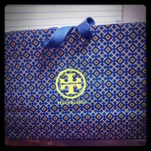 Medium Tory Burch gift bag
